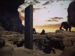 Kadr z filmu: Odyseja kosmiczna 2001