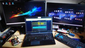 My computer workshop